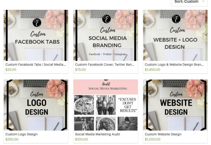 Etsy Shop - Graphic Design - Marketing - epartnersstudio - epartnersmarketing.com