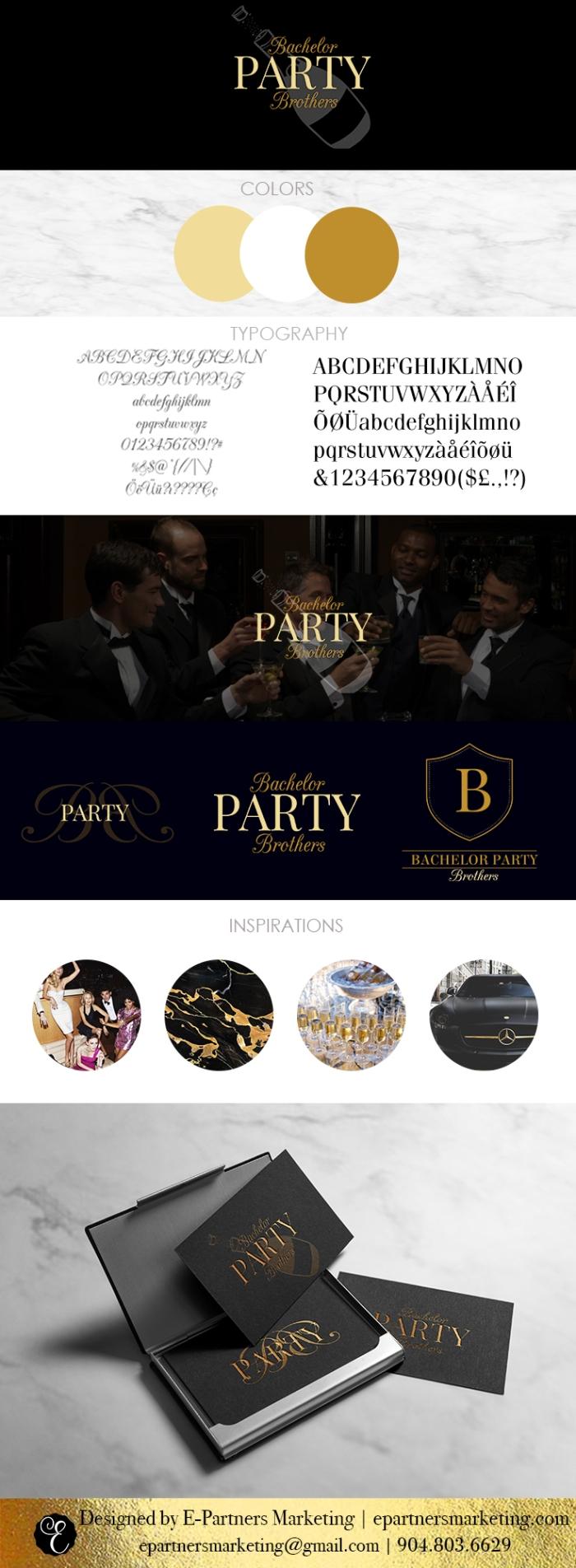 Logo Design Style Sheet - Custom Branding - E-Partners Marketing