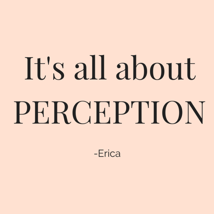 Marketing is all about Perception - Quote of the Day