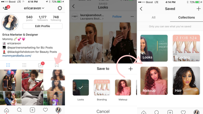 Instagram Collections Feature - 7 New Instagram Features to Know about