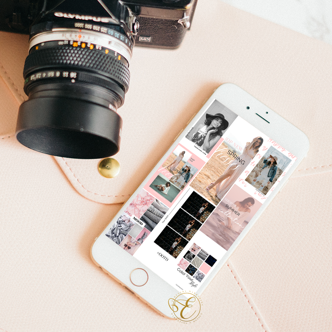 Fashion Instagram Stories Templates - EPartnersStudio on Etsy